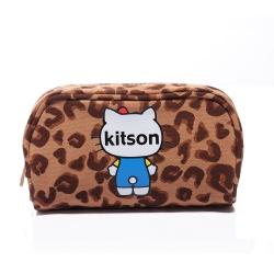 kitson x Ribbon Hello Kitty Pouch (豹紋)
