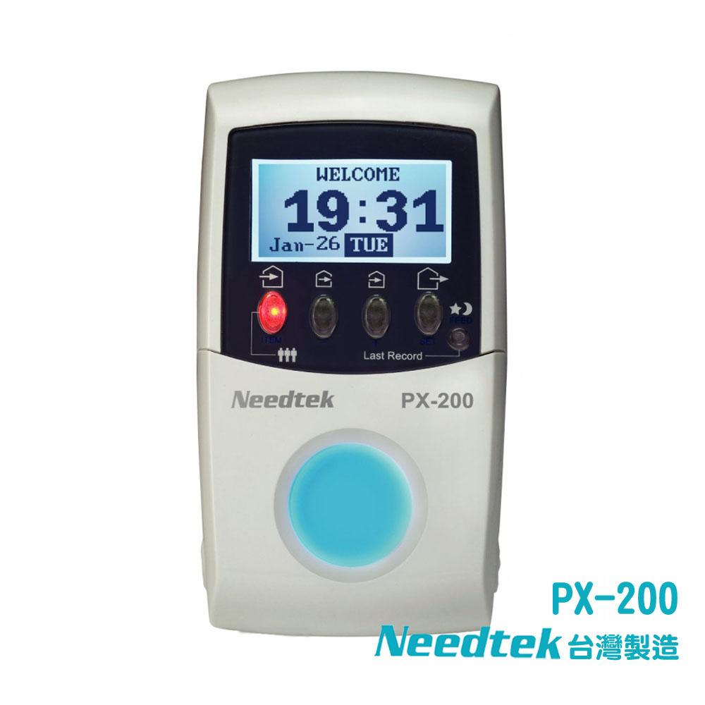 Needtek PX-200 時尚炫光《識別‧打卡》兩用感應卡鐘