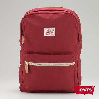 經典 Levis 潮後背包 紅色 簡約 -Levis