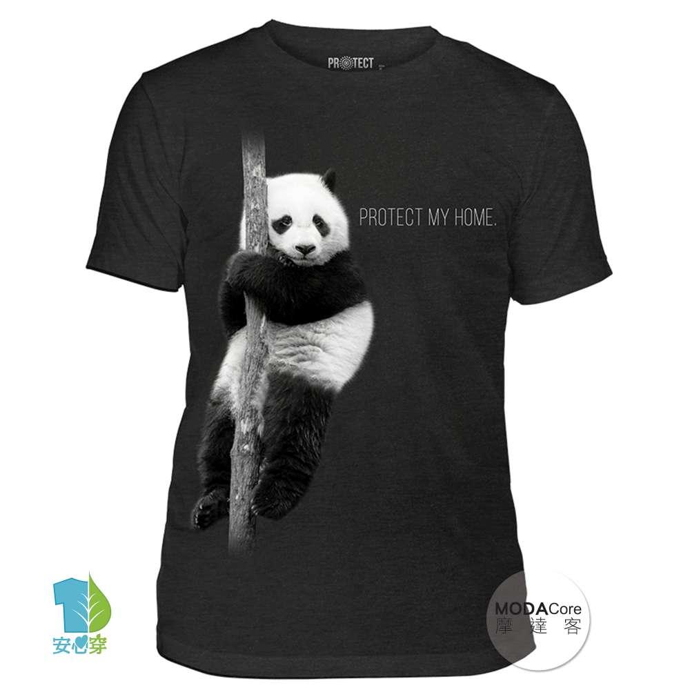 【摩達客】美國The Mountain保育系列 熊貓的家 中性短袖T恤