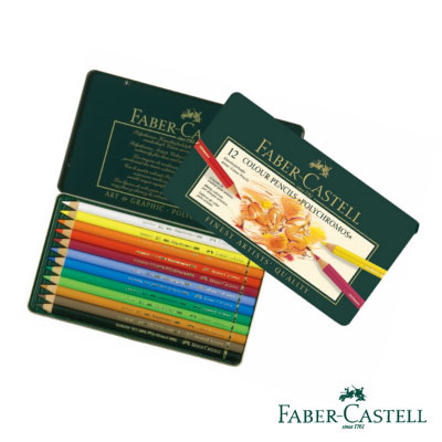 Faber-Castell 藝術家級油性色鉛筆12色