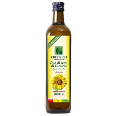 統一生機 Crudigno義大利冷壓葵花油(750ml)