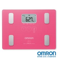 OMRON歐姆龍體重體脂計HBF-216 粉紅色