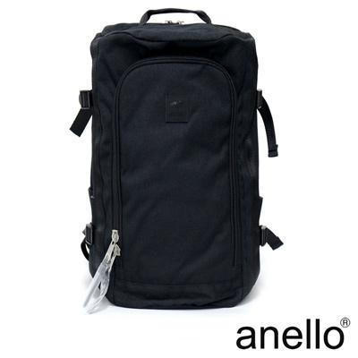 anello 高機能性簡約立體剪裁後背包 黑色