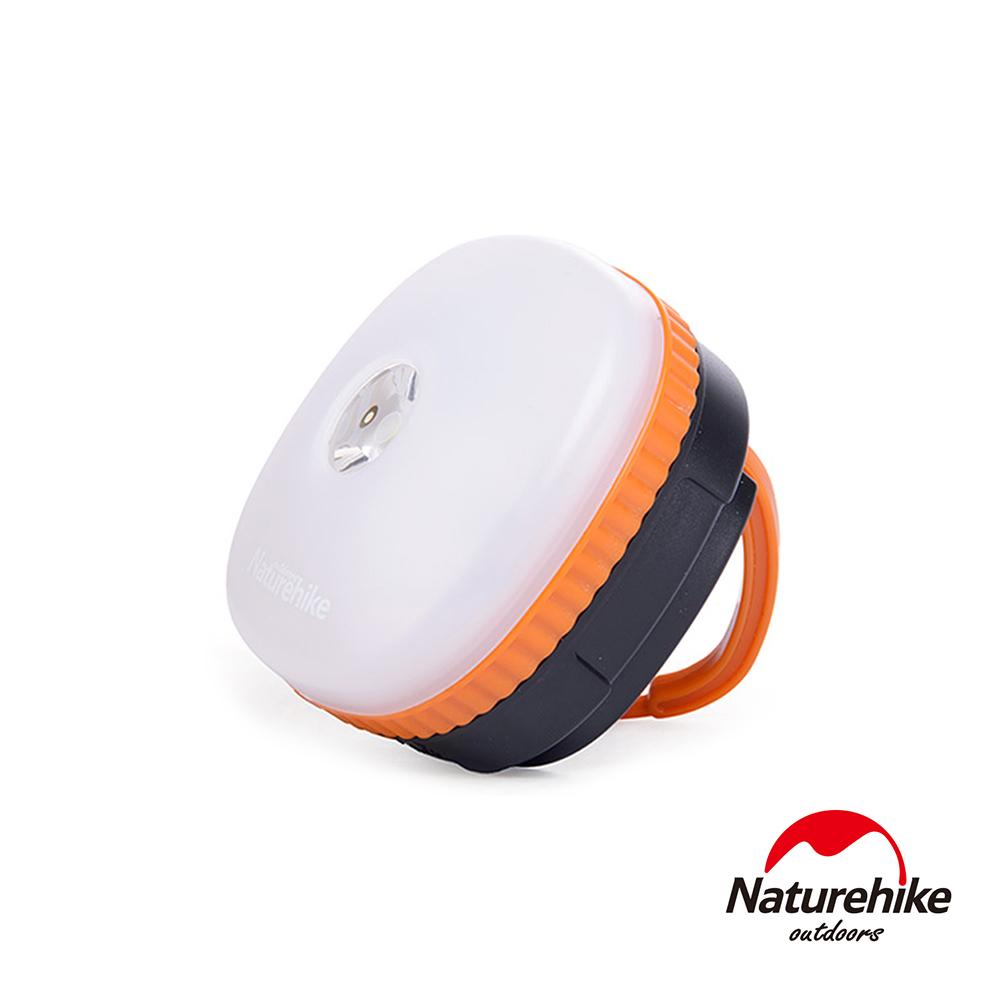 Naturehike 迷你防水四段式LED磁性多功能手電筒帳篷燈 營燈 橙色-急