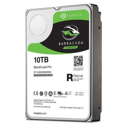 Seagate新梭魚BarraCuda Pro 10TB 3.5吋桌上型硬碟