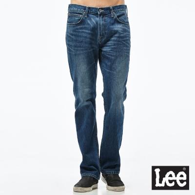 Lee 牛仔褲 743中腰舒適直筒牛仔褲- 男款-藍