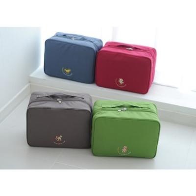 旅遊首選 韓版-大容量行李箱外掛式旅行收納袋購物包(L號)