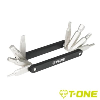 《T-ONE 2137-791 鋁合金8功能折疊工具組