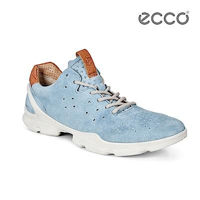 ECCO BIOM STREET 裸足概念輕運動鞋-藍