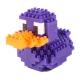 Yahoo-積木塑膠鴨-限定紫