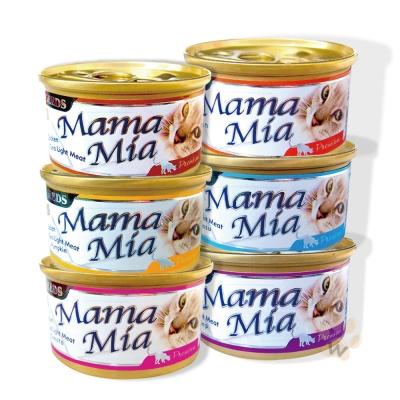 聖萊西Seeds MamaMia貓餐罐 85g 48罐組