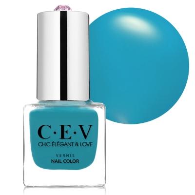 CEV指甲油 SC606 藍色夏威夷 mini 5mL