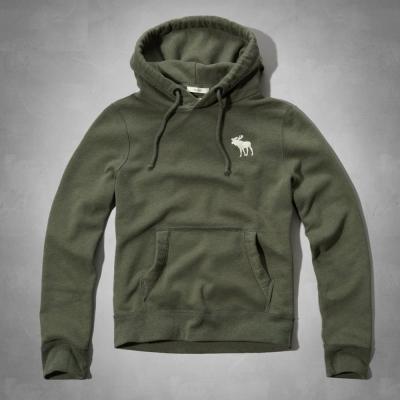 AF a&f Abercrombie & Fitch 帽T 綠色 0362