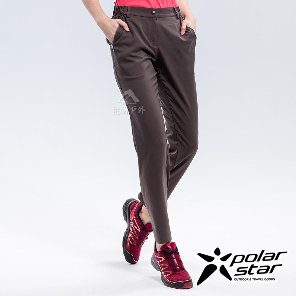 PolarStar 女抗UV排汗快乾長褲『炭灰』P18314