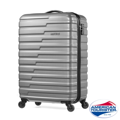 AT美國旅行者 22吋Handy活力炫彩四輪拉桿TSA硬殼行李箱(霧面灰)