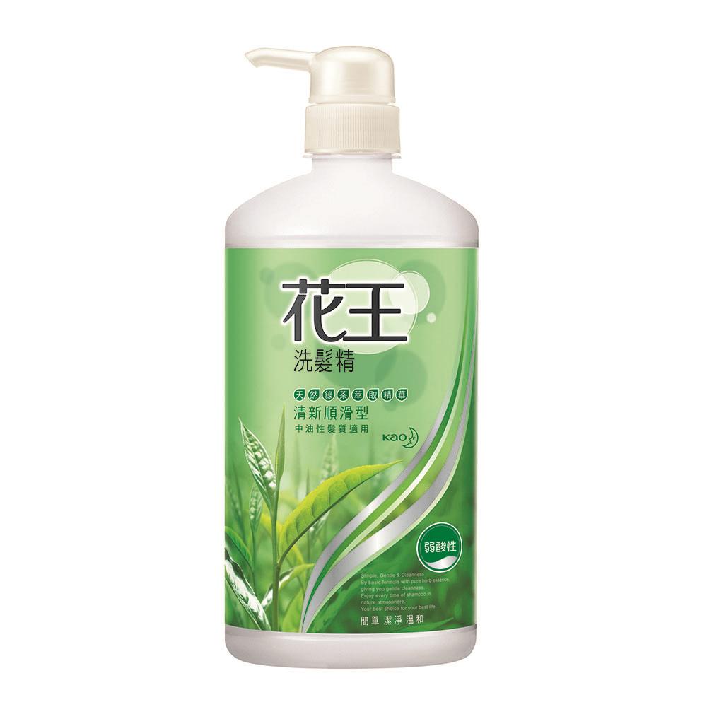 花王 KAO  洗髮精清新順滑型 (750ml/瓶)