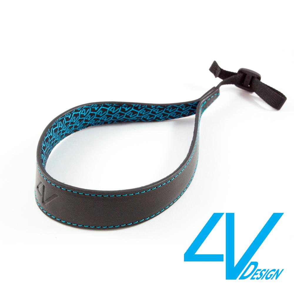 4V ERGO系列相機手環 LS01B-VV0930-黑/青色(L)
