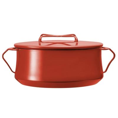 DANSK 琺瑯雙耳燉煮鍋-26cm(紅色)