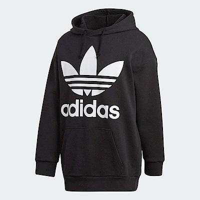adidas 帽T Trefoil Oversize 男款
