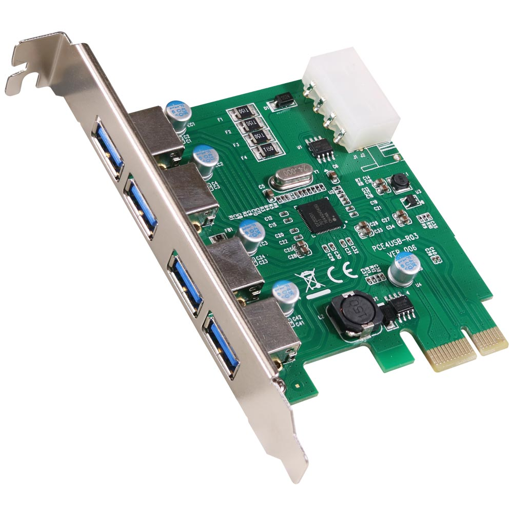 伽利略 PCI-E USB 3.0 4 Port 擴充卡 (Renesas-NEC)