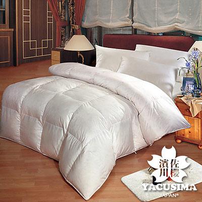 日本濱川佐櫻-白色戀人 加大台灣精製立體隔間天然羽絲絨被(含2枕)