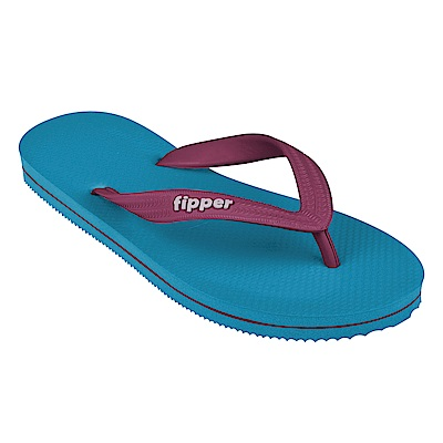 Fipper SLICK 天然橡膠拖鞋 BLUE / MAROON