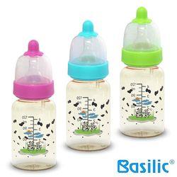 【貝喜力克】防脹氣PPSU直圓型奶瓶120ml*3