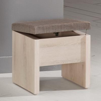 Boden-艾奇收納化妝椅/單椅-42x30x41cm