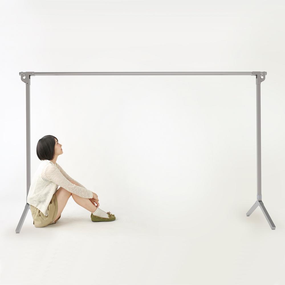 全不鏽鋼2米專利重力鎖Y型伸縮曬衣架