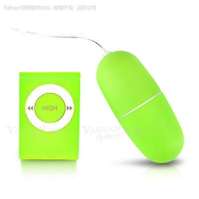 香港Venus-MY-EGG 20頻防水靜音遙控跳蛋-綠(快速到貨)