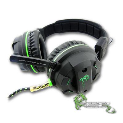 ELEPHANT 龍戰系列 叢林蟒蛇 專業電競全罩式耳麥(GHS003)