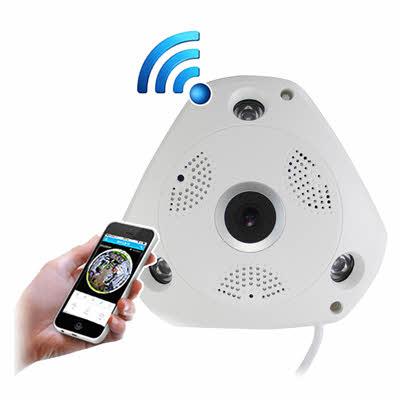 IS愛思 IR-360V1 VR全景紅外線WiFi監控攝影機