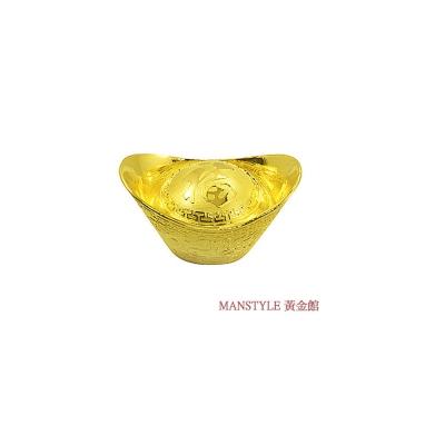MANSTYLE 福字黃金元寶 (1兩)