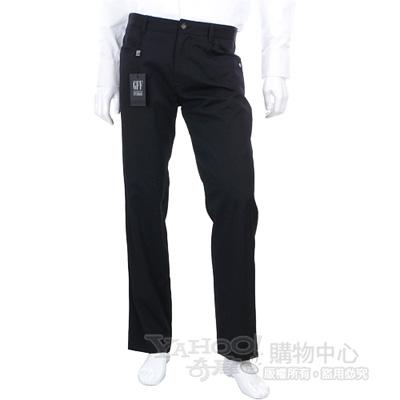 GFF 黑色直筒休閒長褲