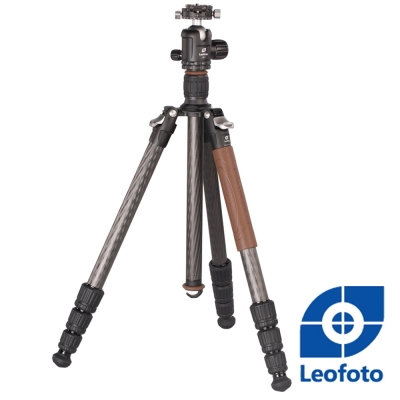 Leofoto徠圖-碳纖維三腳架套組-LN284CT+NB40