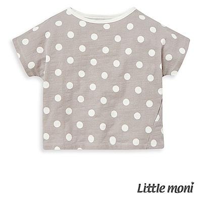 Little moni 休閒點點上衣 (3色可選)