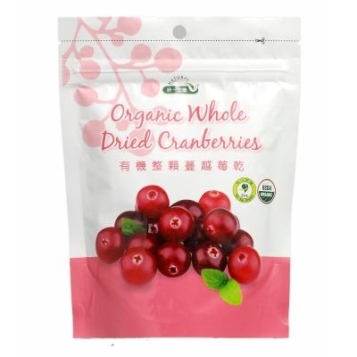 統一生機 有機整顆蔓越莓乾(150g)