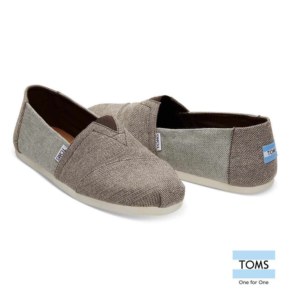 TOMS 斜紋羊毛休閒鞋-男款