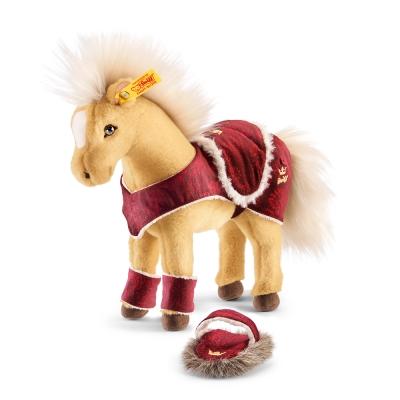 STEIFF德國金耳釦泰迪熊 - Horse Play Set 馬 玩偶 (動物王國)