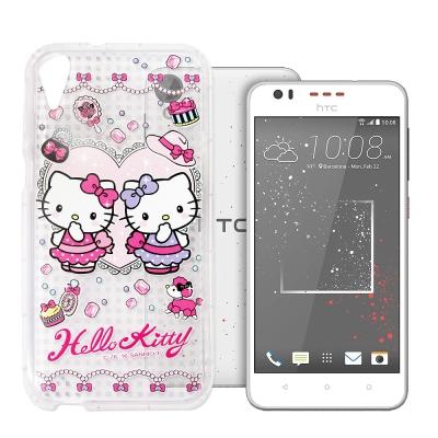 三麗鷗Hello Kitty貓 HTC Desire 825 夢幻空壓防震殼(T...