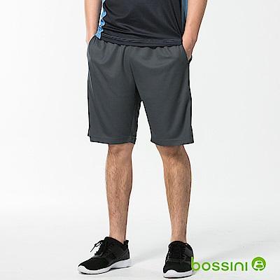 bossini男裝-速乾針織短褲03冷灰