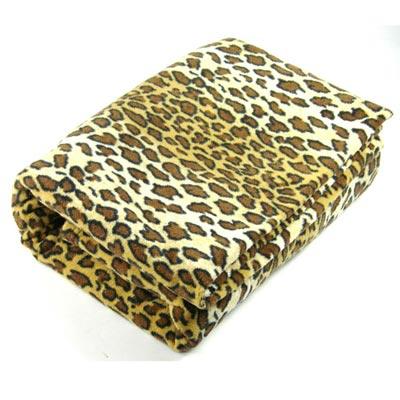 OMAX豹紋多用途舒適創意保暖袖毯