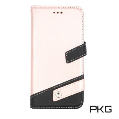 PKG Apple IPhone 7/8 PLUS側翻式皮套-磁扣皮套系列-玫瑰...