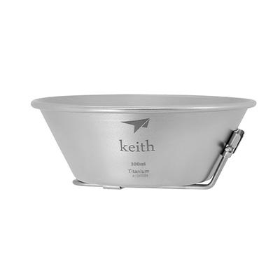 Keith純鈦 KT320摺疊柄碗