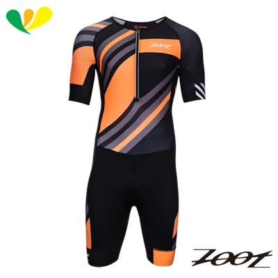 ZOOT 頂級風動力學連身鐵人衣(男)(彩紋橘) Z1706018