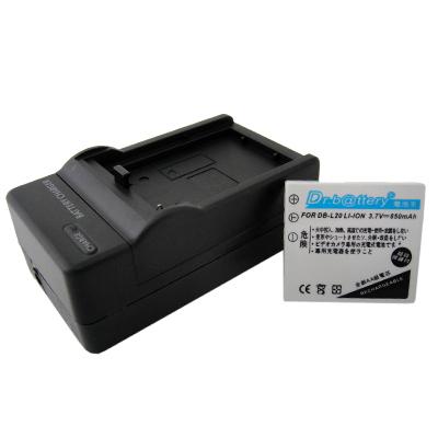 電池王 SANYO DB-L20 高容量鋰電池+充電器組