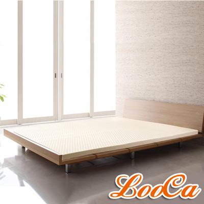 LooCa 旗艦網布5cm天然乳膠床墊-單人3尺