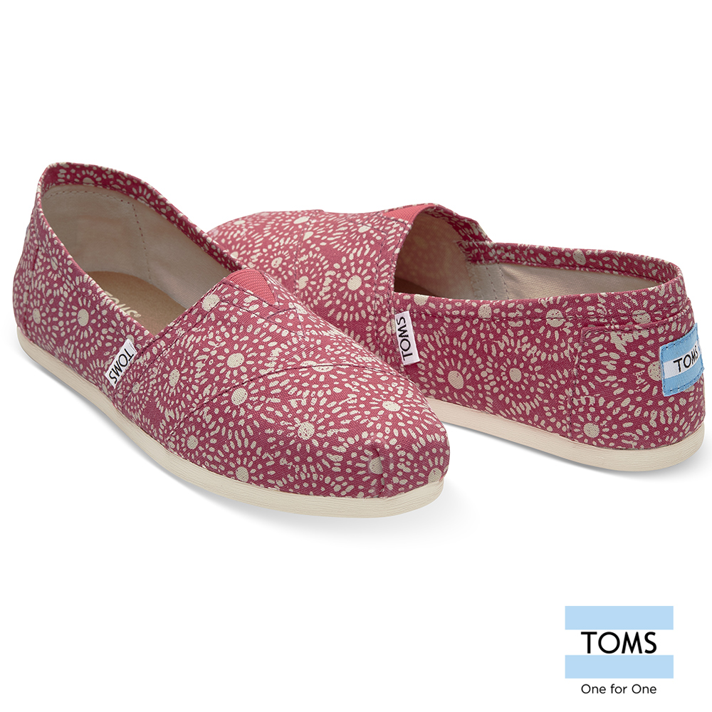 TOMS 日本紮染工藝懶人鞋-女款