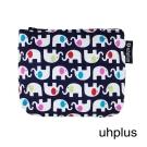 uhplus 幸福小物包- 彩色小象(深藍)